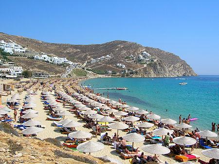 Greece beaches mykonos nude